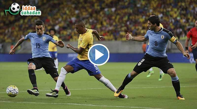 Uruguay Brezilya Maç Özeti