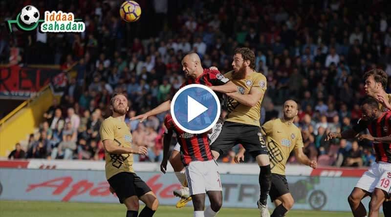 Antalyaspor 2 - 1 Bursaspor Maç Özeti
