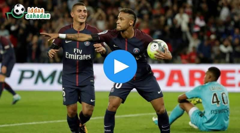 Lyon PSG Özet