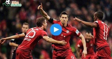 Bayern Münih 3-0 Augsburg Maç Özeti ve Goller (18 Kasım 2017)