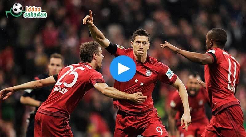 Bayern Münih Hannover Maç Özeti
