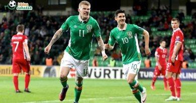 İrlanda 1-5 Danimarka Maç Özeti ve Goller (14 Kasım 2017)