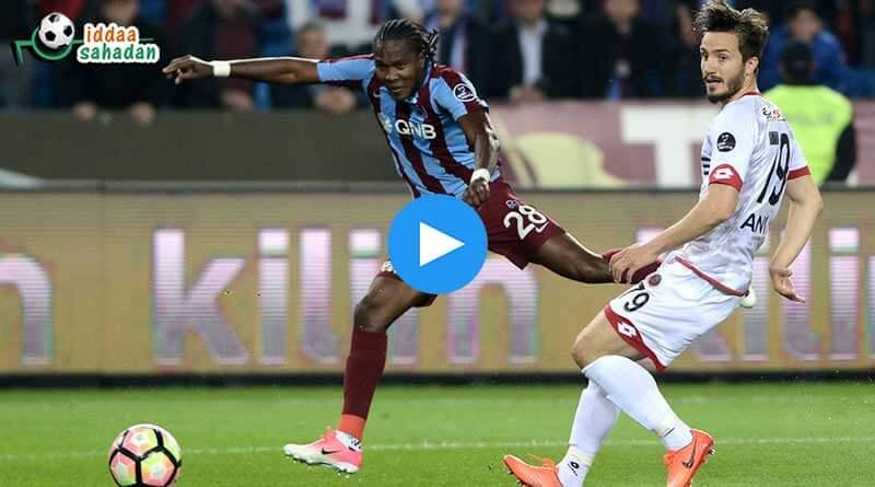 Sivasspor Trabzonspor Maç Özeti