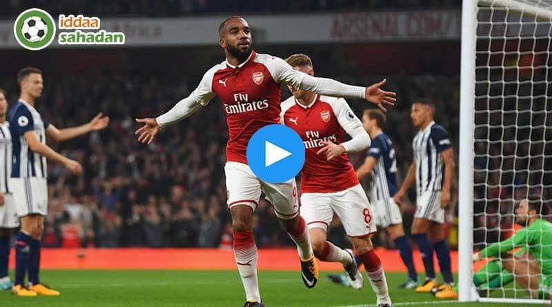 Arsenal Chelsea Özet