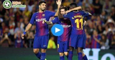 Real Betis Barcelona Özet