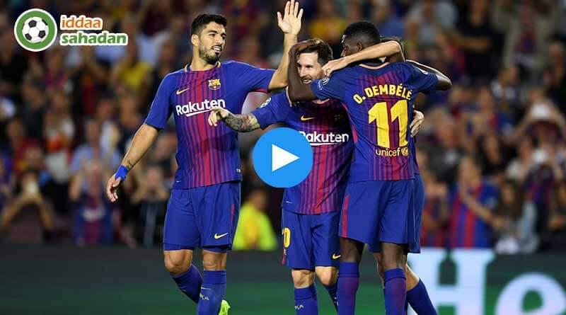 Barcelona Celta Vigo Maç Özeti