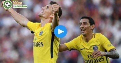 PSG 4-1 Nantes Maç Özeti ve Goller (18 Kasım 2017)