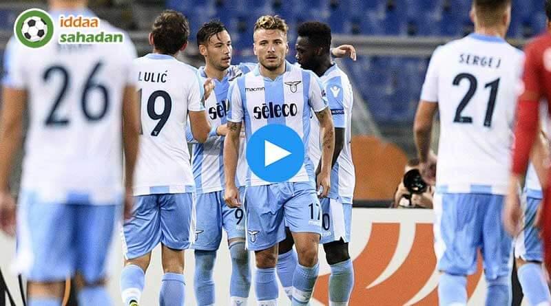 Lazio Sassuolo Özet