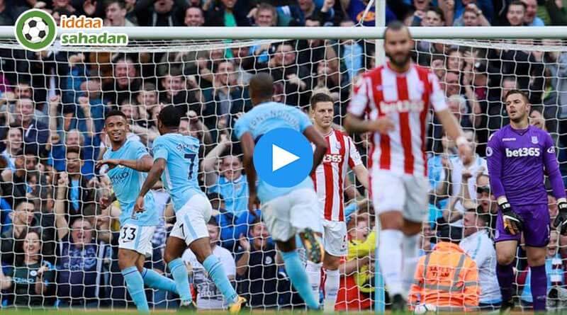 Manchester City 3 - 0 Burnley Maç Özeti