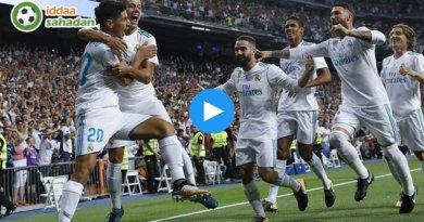 Real Madrid Dortmund Maçı Özeti || 3 - 2 || Video | 06 Aralık 2017