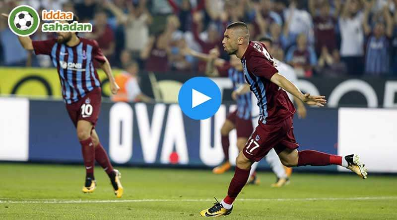 Trabzonspor Bursaspor Maç Özeti izle || 1 - 0 || 16 Aralık 2017