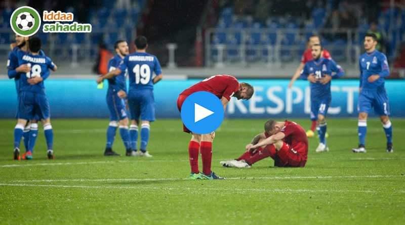 Maç Özeti ▷ Azerbaycan 1 - 2 Çek Cumhuriyeti