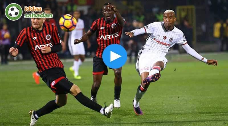 Beşiktaş 0-0 Akhisarspor Maç Özeti ve Goller (17 Kasım 2017)