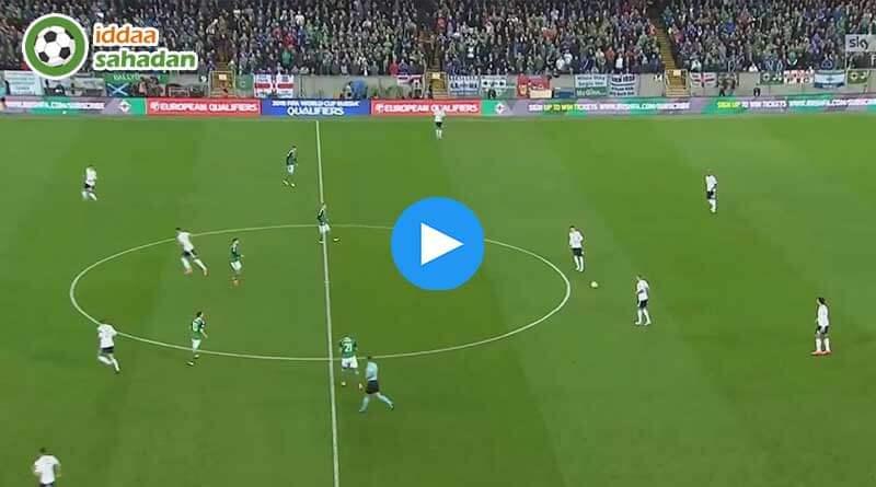 Danimarka 0-0 İrlanda Maç Özeti ve Goller (11 Kasım 2017)