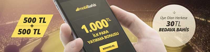 mobil bahis bonus