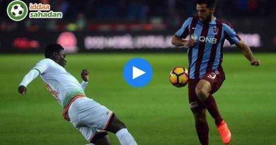 Alanyaspor Trabzonspor Maç Özeti