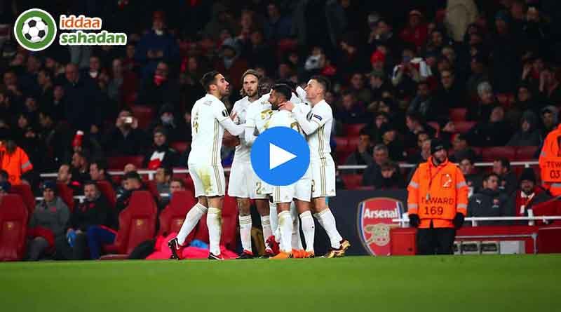 Arsenal Östersunds Maç Özeti