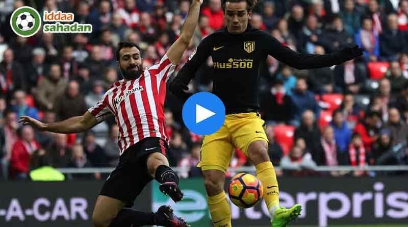 Atletico Madrid Athletic Bilbao Maç Özeti