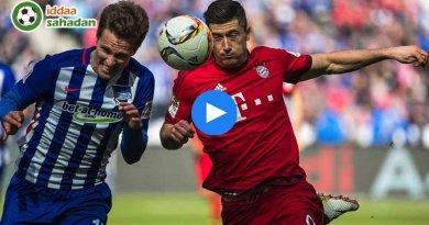 Bayern Münih Hertha Berlin Maç Özeti