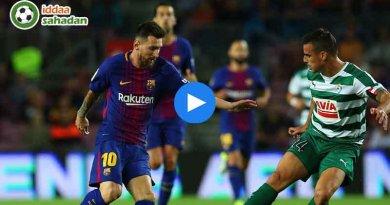 Eibar Barcelona Maç Özeti