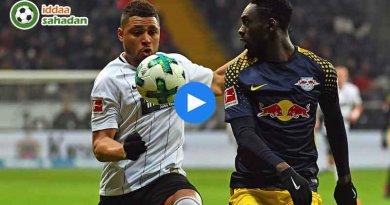 Eintracht Frankfurt RB Leipzig Maç Özeti