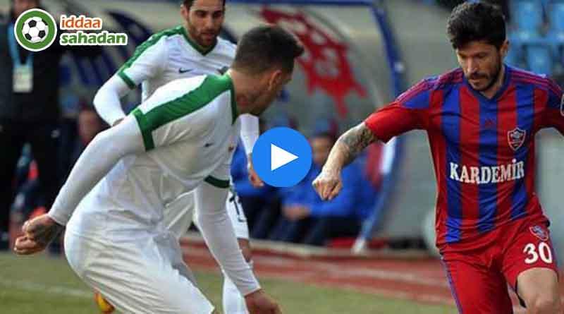 Karabükspor Akhisarspor Maç Özeti