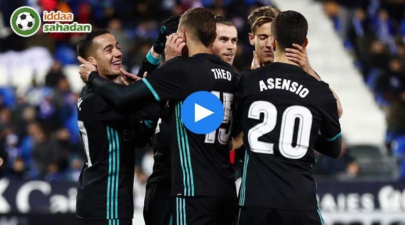 Leganes Real Madrid Maç Özeti