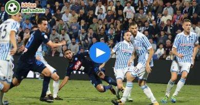 Napoli SPAL Maç Özeti