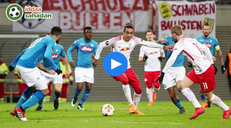RB Leipzig Napoli Maç Özeti