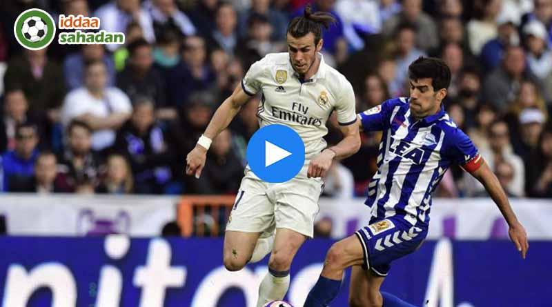 Real Madrid Deportivo Alaves Maç Özeti