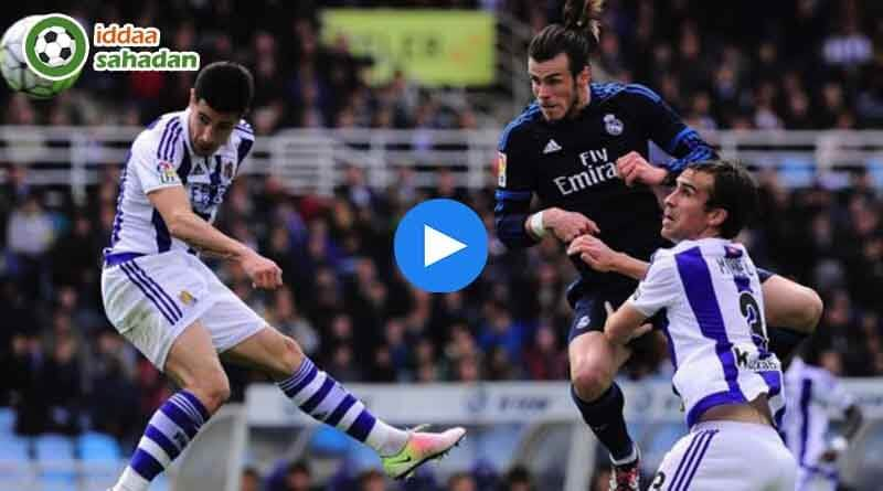 Real Madrid Real Sociedad Geniş Özet | Maç Özetleri