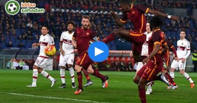 Roma Milan Maç Özeti