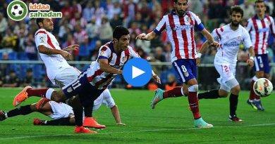Sevilla Atletico Madrid Maç Özeti