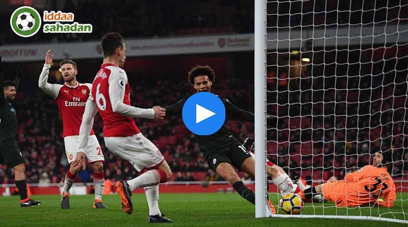 Arsenal Manchester City Maç Özeti