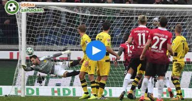 Borussia Dortmund Hannover 96 Özet