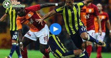 Fenerbahçe Galatasaray Özet