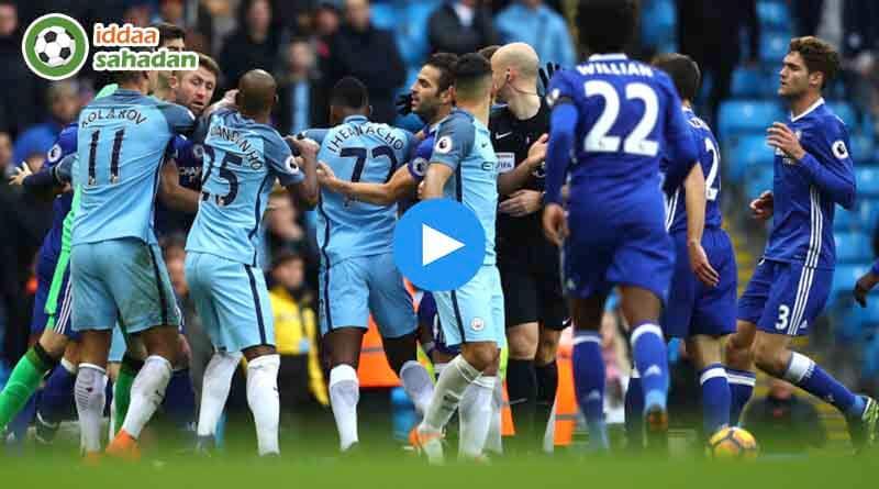 Manchester City Chelsea Özet