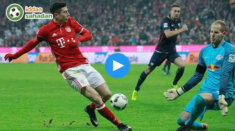 RB Leipzig Bayern Münih Özet