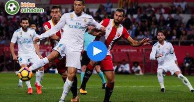 Real Madrid Girona Özet