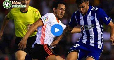Valencia Deportivo Alaves Özet