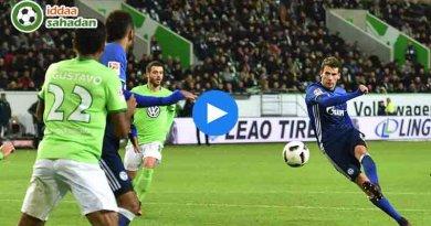 Wolfsburg Schalke Özet