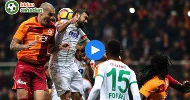 Alanyaspor Galatasaray Özet