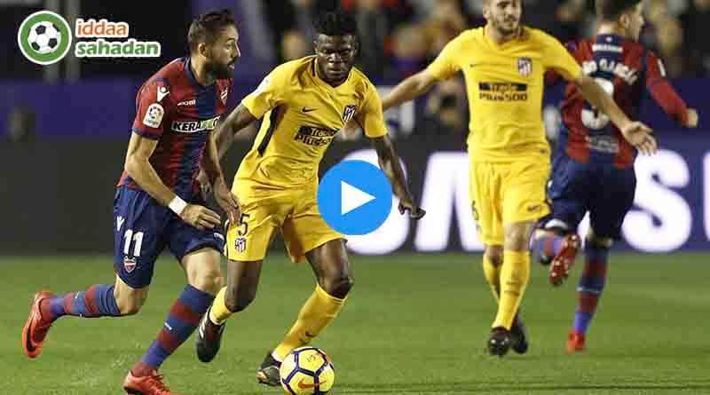 Atletico Madrid Levante Özet