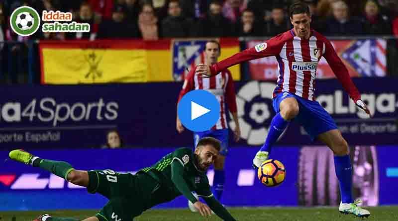 Atletico Madrid Real Betis Özet