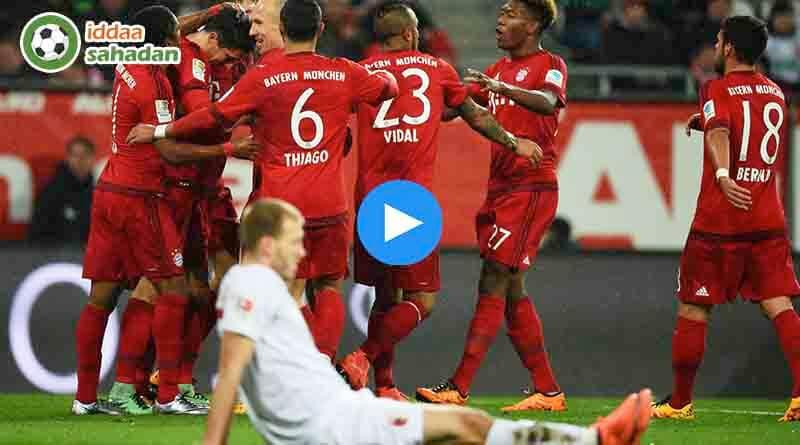 Augsburg Bayern Münih Özet