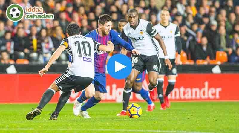 Barcelona Valencia Özet