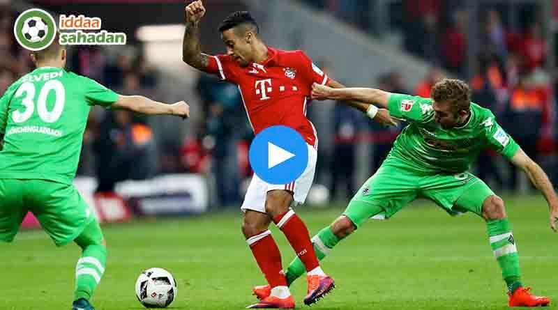 Bayern Münih Mönchengladbach Özet