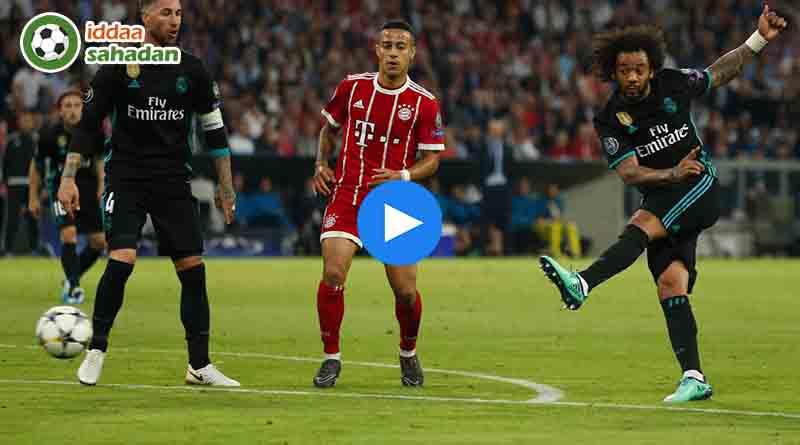 Bayern Münih Real Madrid Özet