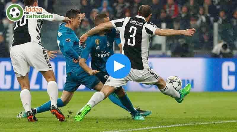 Juventus Real Madrid Özet