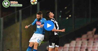 Napoli Udinese Özet